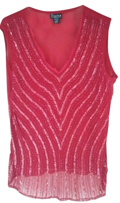 Preload https://item1.tradesy.com/images/ny-collection-tank-top-red-5129185-0-0.jpg?width=400&height=650