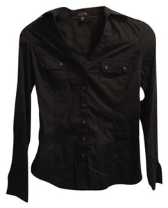 Express Button Down Shirt Blac