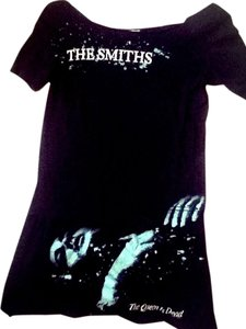 bravado! short dress Black Little The Smiths The Queen Is Dead Vintage 80's on Tradesy