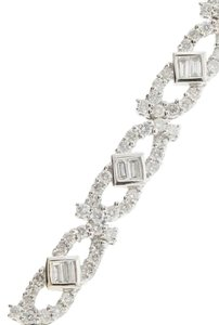 EXTRA $500 OFF - WOW WHOLESALE Stunning - 3 CT 18k white gold designer bracelet