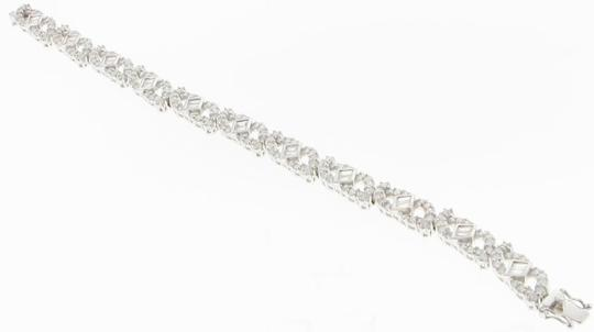 Other Stunning - 3 CT 18k white gold designer bracelet Image 1