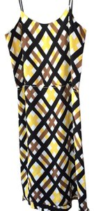 Marni Yellow Black White Work Dress