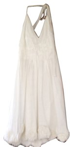 Vera Wang Lavender Label short dress White on Tradesy
