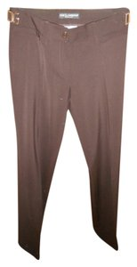 Dolce&Gabbana Straight Pants Brown