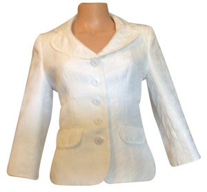 Nine West White Blazer