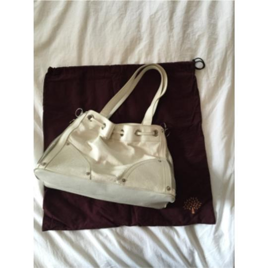 Mulberry Satchel in White