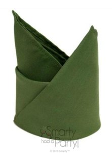 Willow Green 12517x17 Polyester Dinner Napkins Tablecloth