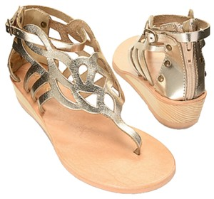 Matisse Gold Sandals
