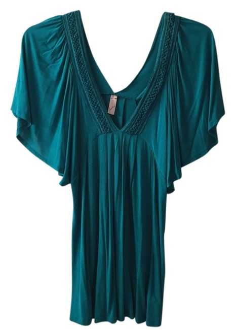 Preload https://item2.tradesy.com/images/turquoise-tee-shirt-size-16-xl-plus-0x-5130481-0-0.jpg?width=400&height=650