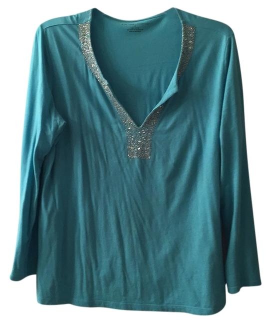 Preload https://img-static.tradesy.com/item/5130598/new-york-and-company-turquoise-tunic-size-16-xl-plus-0x-0-0-650-650.jpg