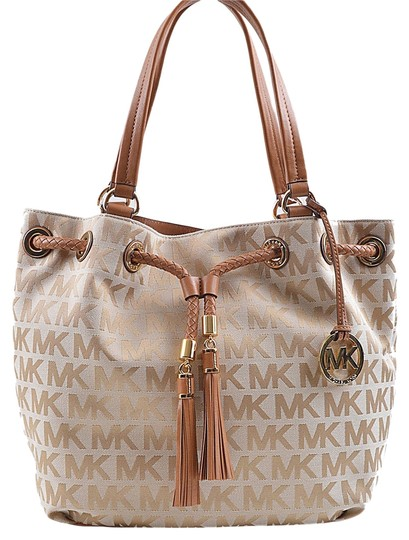 9ae7c83cfd09 Michael Kors Jet Set Item Signature Large Gathered Tote (A3444d ...