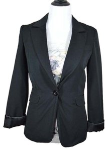 Maurices One Button Jacket Wear To Work Single Button black Blazer