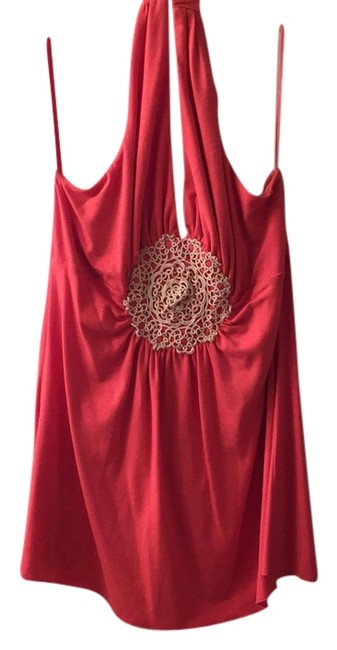 Preload https://item3.tradesy.com/images/coral-halter-tank-topcami-size-20-plus-1x-5131192-0-0.jpg?width=400&height=650