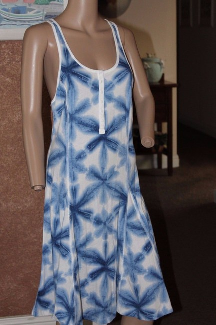 Ralph Lauren short dress BLUE AND WHITE on Tradesy