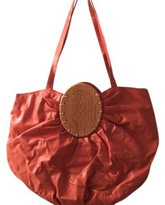 Other Tote in Coralish Orange