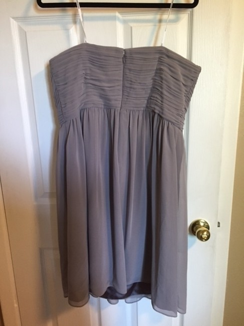 Donna Morgan Bridesmaid Wedding Strapless Dress