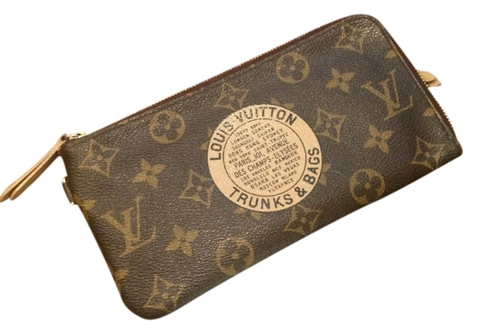 79e5a495e38 Louis Vuitton Monogram Limited Canvas Complice Trunks & Bags Wallet 50% off  retail