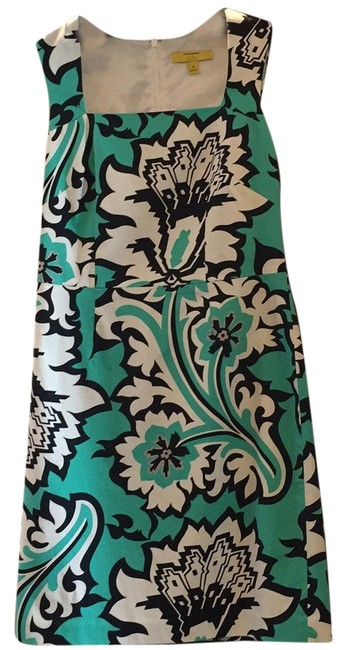 MILLY Banana Republic Collaboration Work Floral Floral Dress