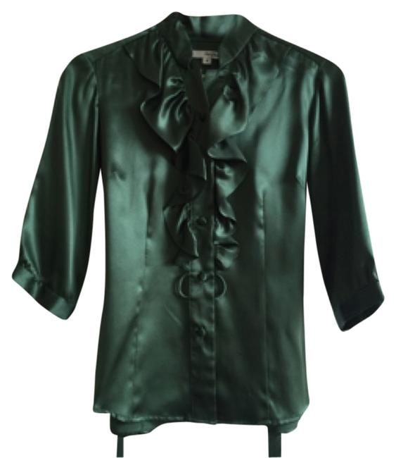 Item - Green Blouse Size 6 (S)