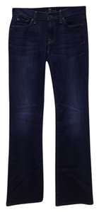 7 For All Mankind New - Never Been Worn Boot Cut Jeans-Dark Rinse