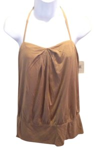 Trina Turk Tan Halter Top