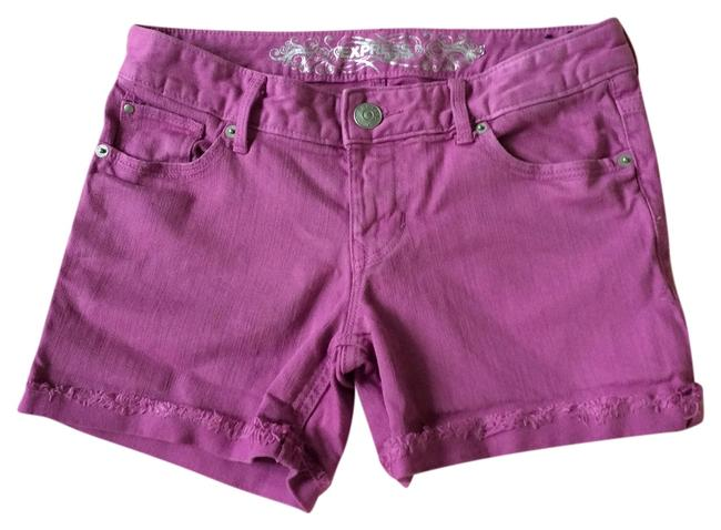 Express Cuffed Shorts Orchid