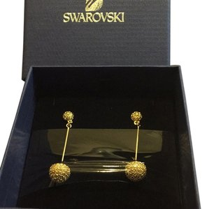 Swarovski Brand New Swarovski Gold-Tone Dolce Earrings