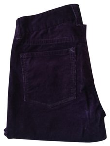 J.Crew Flare Pants Purple