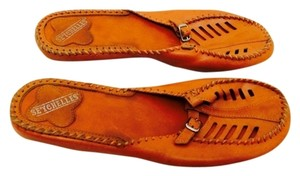 Seychelles Orange Mules