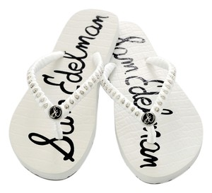 Sam Edelman Flip Flops Shoe White Sandals