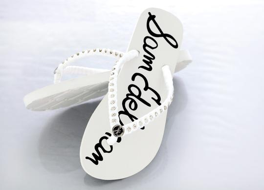 Sam Edelman Flip Flops Flip Flops Wedding Bridal White Sandals