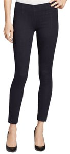SOLD Design Lab Soho Skins Super Jegging Legging Denim Stretch Fashion Style Modern Cool Edgy Chic Elegant Urban Casual Women Ladies Skinny Jeans-Dark Rinse
