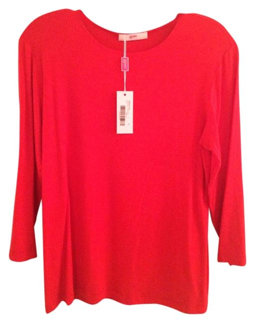 Preload https://item2.tradesy.com/images/red-hibiscus-lycra-tee-shirt-size-4-s-5135206-0-0.jpg?width=400&height=650