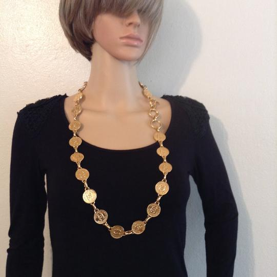 Chanel CHANEL GOLD PLATED CC 31 RUE CAMBON NECKLACE