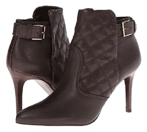 Tory Burch Quilted Leather Women Size 9.5 brown Boots