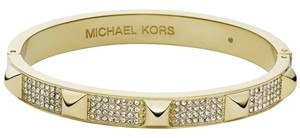 Michael Kors reduced!!! new MICHAEL KORS Gold Tone Pave Embellished Studded Bangle