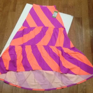 Lilly Pulitzer Maxi Skirt Sunrise orange