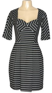 bebe short dress BLACK/WHITE STRIPES on Tradesy