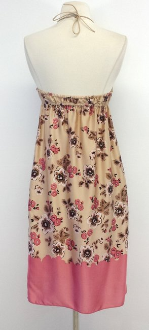 Susana Monaco short dress Floral Silk Halter on Tradesy