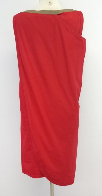 Versace short dress Cotton Sleeveless Asymmetrical on Tradesy