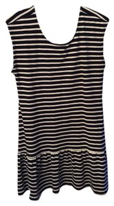 Old Navy short dress Navy/white on Tradesy