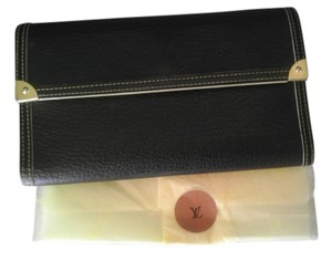 Louis Vuitton LOUIS VUITTON SUHALI LONG TRI-FOLD WALLET