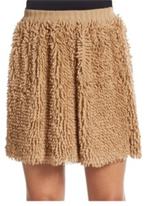RED Valentino Brand New Mini Skirt Gold