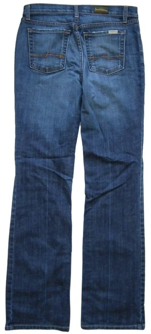 Item - Blue Model Laren Made In Usa Boot Cut Jeans Size 30 (6, M)