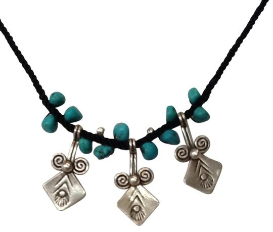 Other Sterling Silver & Turquoise Necklace