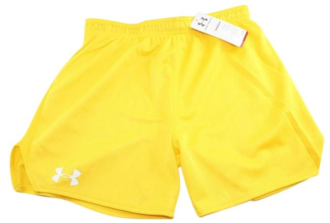 Item - Yellow Heat Gear Double Mesh Activewear Bottoms Size 6 (S, 28)