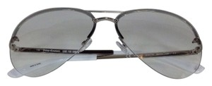 Juicy Couture Juicy Couture Women's Aviator Silver Sunglasses