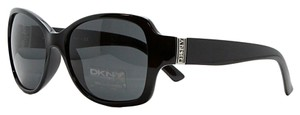 DKNY DKNY Black Rectangular Sunglasses