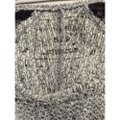 Free People Lace Lace Black And Grey Black And Gray Black And Grey Gray And Black Sweater Image 3