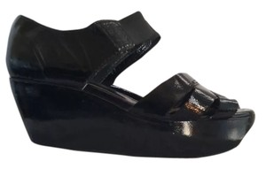 Marni Patent Leather Black Wedges
